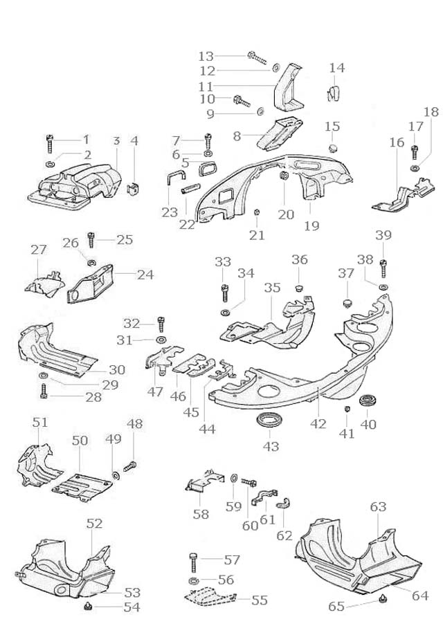 1973 1600cc vw engine tin diagram