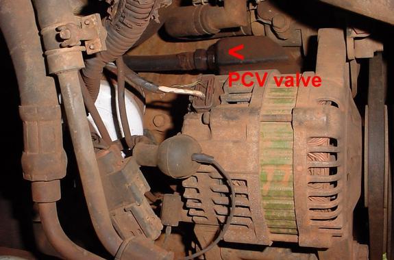 SOLVED Where is pcv valve on 96 nissan pickup - Fixya