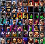 Mortal Kombat Scorpion Sprites