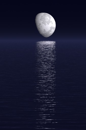 Animated Ocean Wallpaper My Favorite Moon Gifs