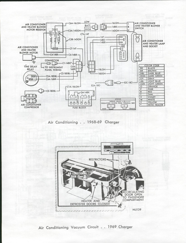 vintage air wiring diagram 1968 charger
