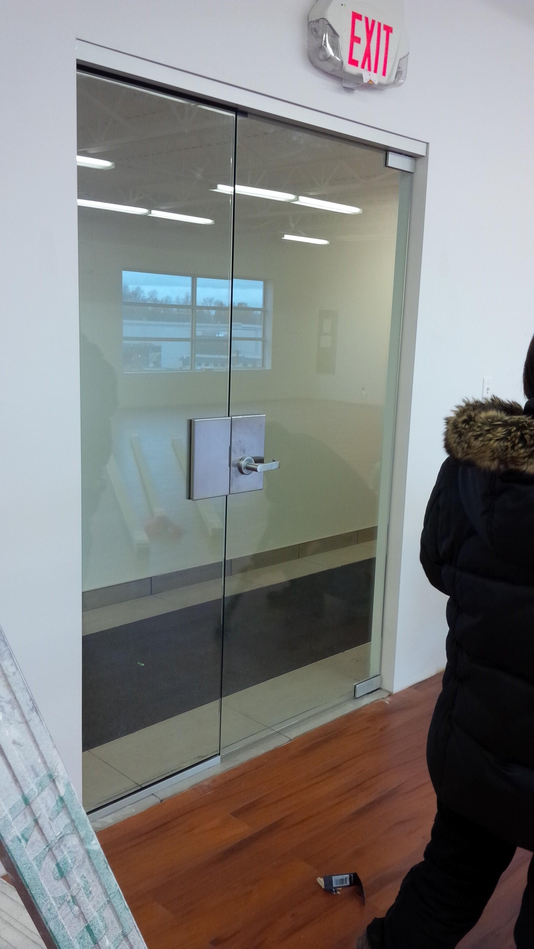 Frameless Glass Interior Doors -  doors frameless glass storefront viewing gallery download