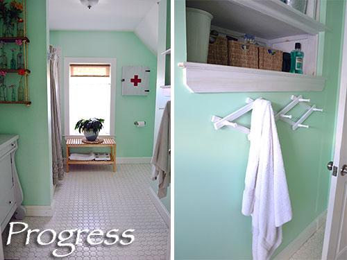 Bathroom Progress Take 6