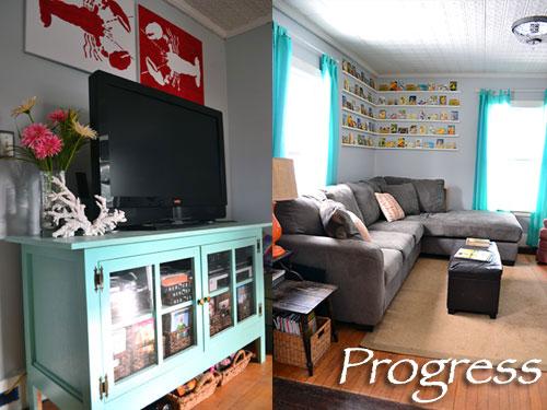 Living Room Progress Take 6