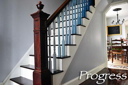 Staircase Progress Take 5