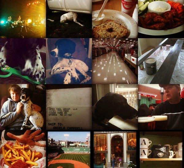 September Instagram Collage
