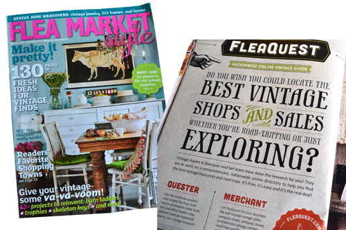 Flea Market Style Magazine And Flea Quest Website
