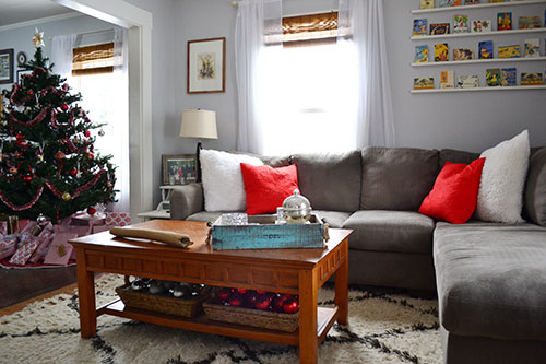 Christmas Decor In Living Room 2013
