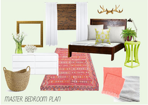 Master Bedroom Makeover Plan
