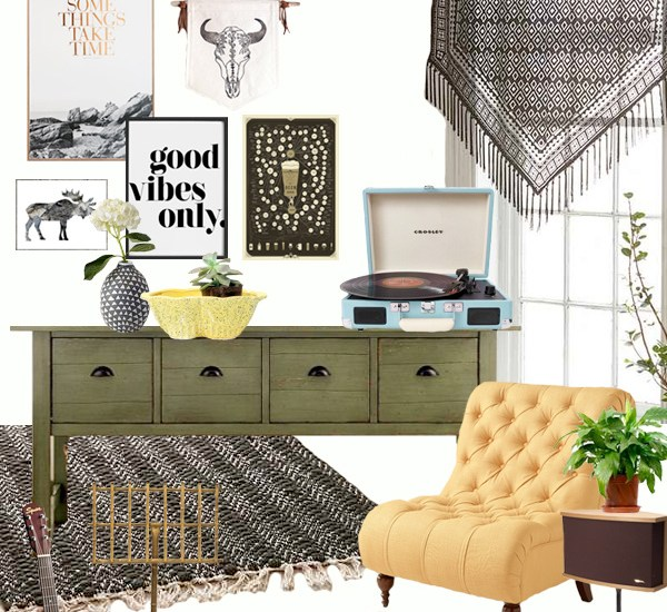 Landing Makeover Mood Board