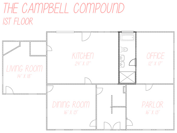 Campbell Compound 1st Floor Bathroom Layout Version 2