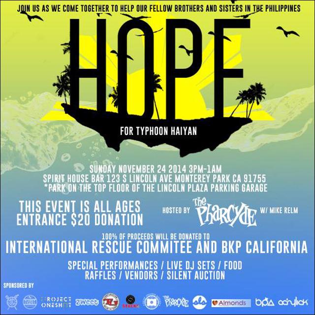 HOPE for Typhoon Haiyan, November 24