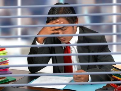 """""""Oh yes. What I wonderful job I have. Whee."""" [Photo courtesy of Stuart Miles at freedigitalphotos.net]"""