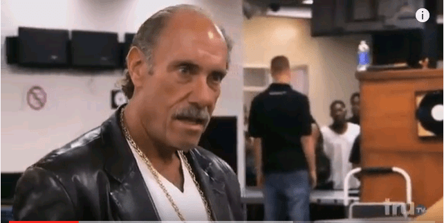 Or the look Les Gold has on when he tries to think why he operates out of s****y Detroit instead of literally anywhere else in the country. [Photo courtesy of TruTV]