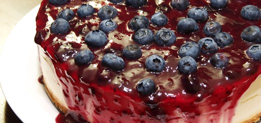 Blueberry Cheesecake 1