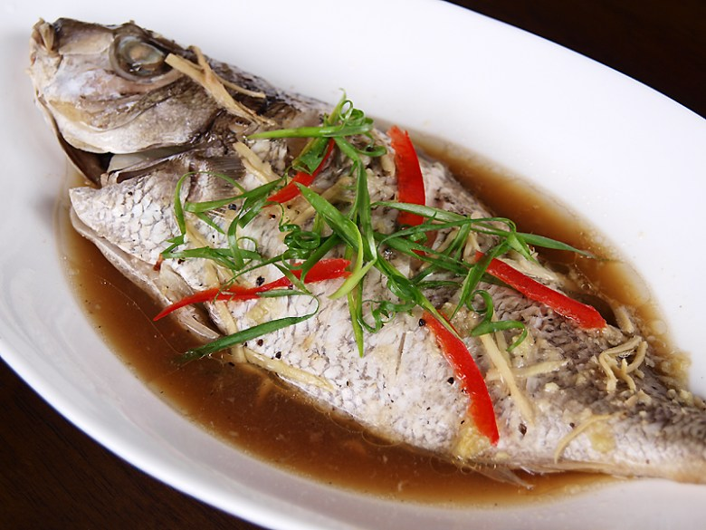 Paleo Chinese-Style Steamed Fish