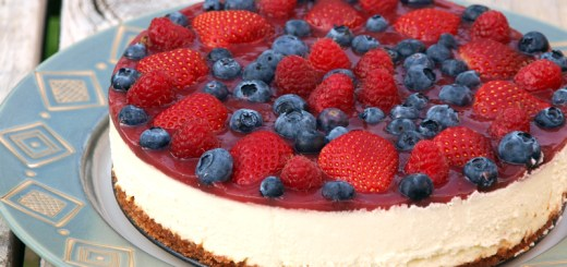 Mixed Berries Cheesecake 1
