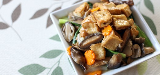Braised Tofu Wide