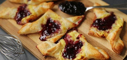 Blueberry and Custard Danish 1