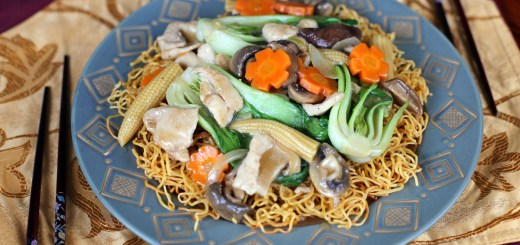 Chow Mein Crispy Noodles Wide