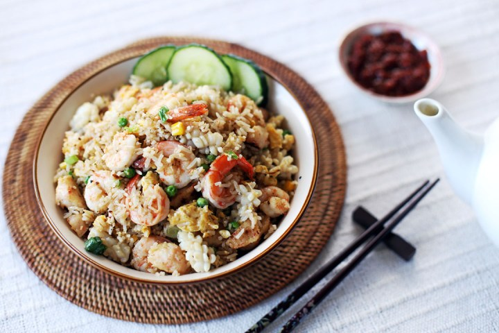 Seafood Fried Rice Wide