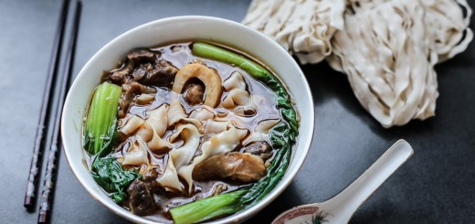 Taiwanese Beef Shank Noodle Soup 1