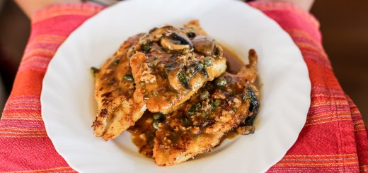 Veal Scallopini Wide