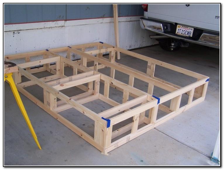 California King Platform Bed Frame Plans Beds Home