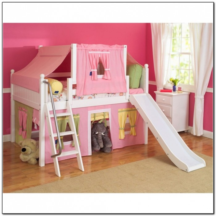girls beds with slide bunk beds with slide for girls girl bunk bed with slides. Black Bedroom Furniture Sets. Home Design Ideas