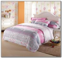 Pink Gray And White Bedding Download Page  Home Design ...
