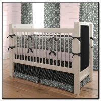 Black And White Baby Bedding Crib Sets - Beds : Home ...