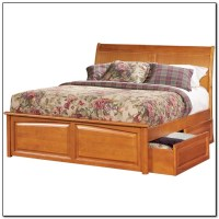 Full Size Bed With Storage Drawers Underneath - Beds ...