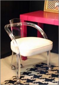 Acrylic Office Chair - Desk : Home Design Ideas ...