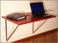 Fold Down Desk Wall Mounted - Desk : Home Design Ideas ...