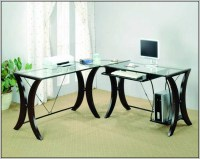 Glass Office Desk Ikea - Desk : Home Design Ideas ...