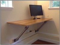 Wall Mounted Computer Desk Diy - Desk : Home Design Ideas ...