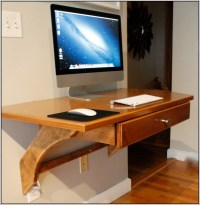 Wall Mounted Computer Desk Ikea - Desk : Home Design Ideas ...