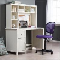White Corner Study Desk With Hutch - Desk : Home Design ...