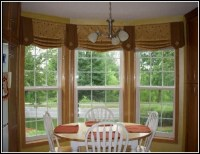 Large Bay Window Curtain Rods - Curtains : Home Design ...