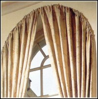 Custom Curved Bay Window Curtain Rod - Curtains : Home ...