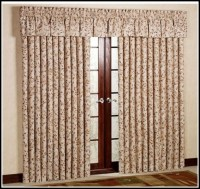 Patio Door Traverse Curtain Rod - Curtains : Home Design ...