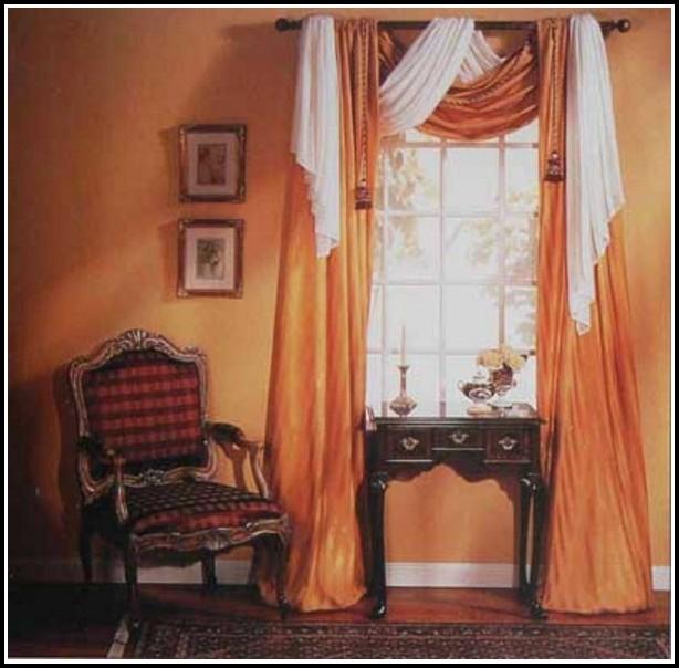Large Kitchen Window Curtain Ideas