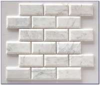 Beveled White Subway Tile With Dark Grout - Tiles : Home ...