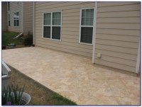 Travertine Tile Over Concrete Patio - Tiles : Home Design ...