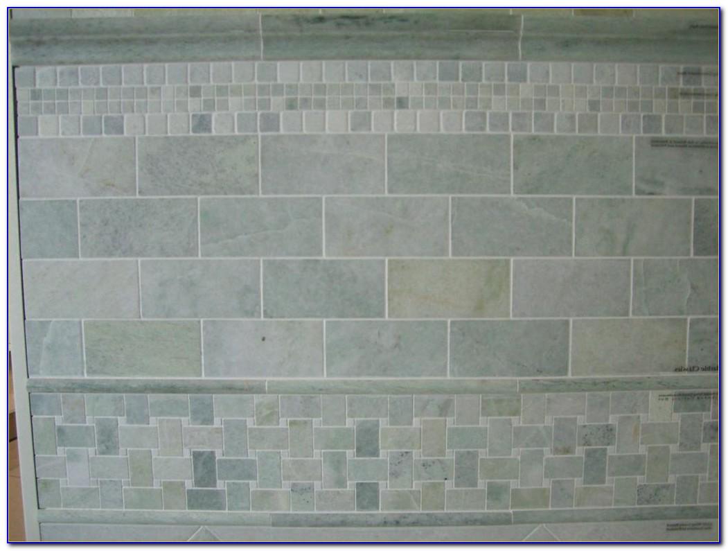 Cozy Tumbled Marble Subway Tile Backsplash Pattern Tiles Home Design