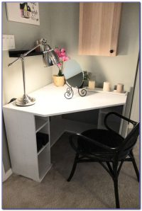 White Corner Desks For Small Spaces