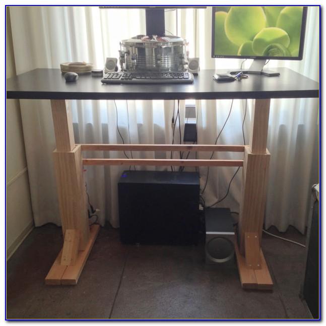 Diy Adjustable Standing Desk Top
