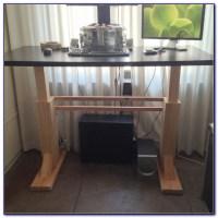 Diy Adjustable Standing Desk Top - Desk : Home Design ...