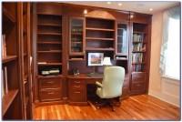 Built In Bookshelves And Computer Desk - Desk : Home ...