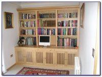 Custom Bookshelves With Desk - Desk : Home Design Ideas # ...